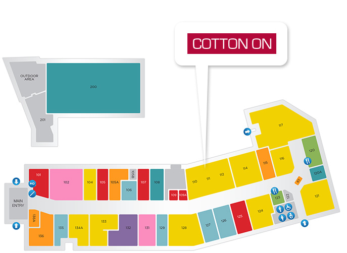 Cotton On Store Location
