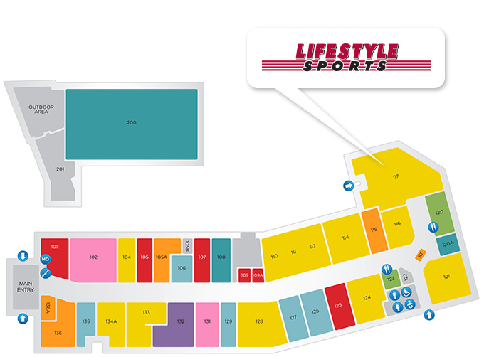 Lifestyle Sports store location