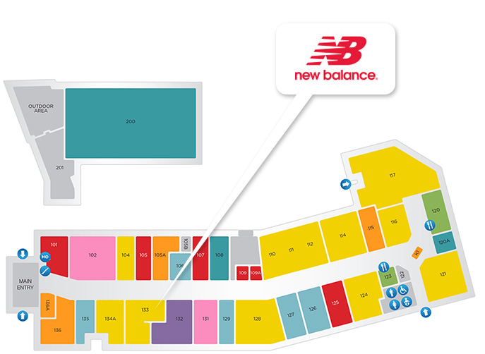 New Balance store location