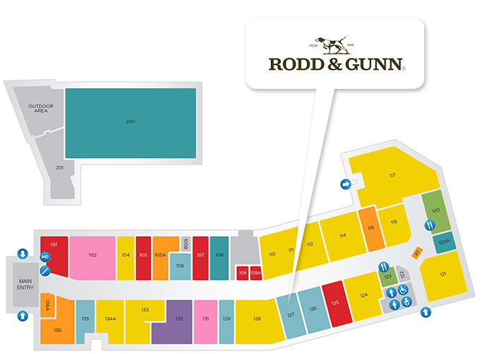 Rodd & Gunn store location